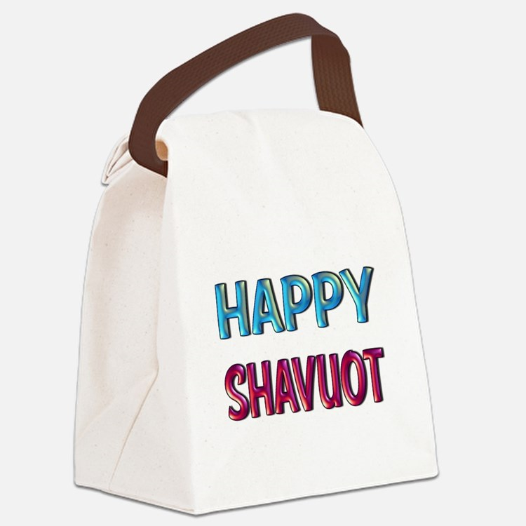 HAPPY SHAVUOT Canvas Lunch Bag