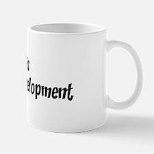 Life is web design developmen Mug