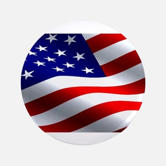 "US Flag 3.5"" Button"