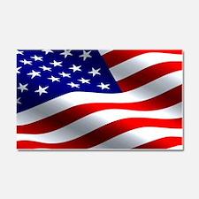 US Flag Car Magnet 20 x 12