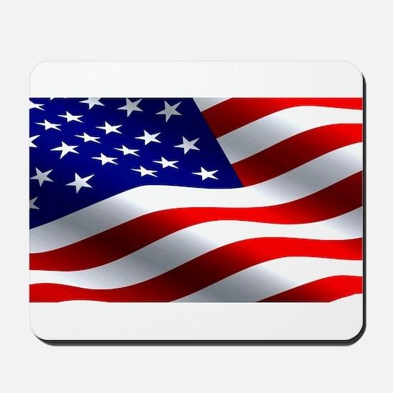 US Flag Mousepad