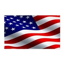 Us Flag 3'x5' Area Rug