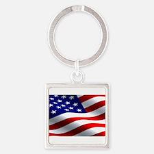 US Flag Keychains