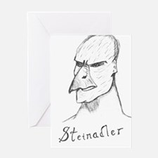 Steinadler Greeting Card