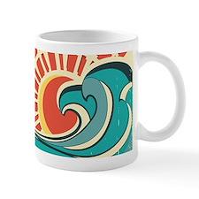 wave at dawn Mugs