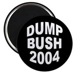 Dump Bush 2004 Magnet (100 pack)