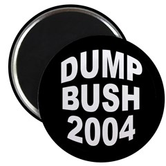 Dump Bush 2004 Magnet (100 pack)