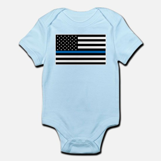 Blue Line Onesie Body Suit