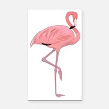 Beautiful Flamingo  Rectangle Car Magnet