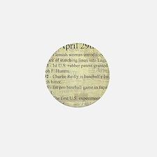 April 29th Mini Button