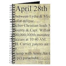 April 28th Journal