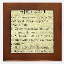 April 26th Framed Tile