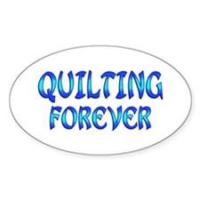 Quilting Forever Decal