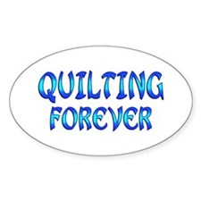 Quilting Forever Stickers