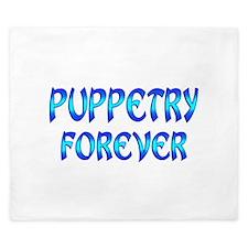 Puppetry Forever King Duvet