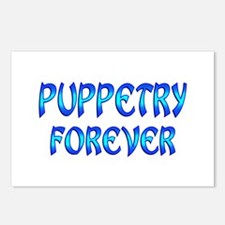 Puppetry Forever Postcards (Package of 8)