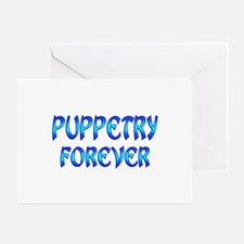 Puppetry Forever Greeting Card