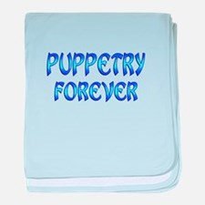 Puppetry Forever baby blanket