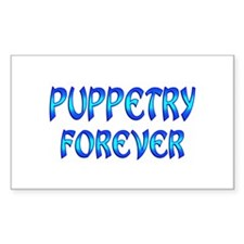 Puppetry Forever Decal