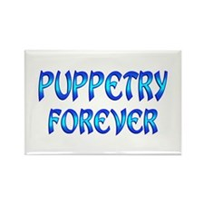 Puppetry Forever Rectangle Magnet
