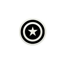 Captain America Mini Button