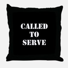 Called To Serve Throw Pillow
