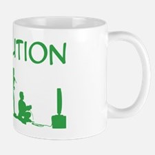 Evolution in Men Mug