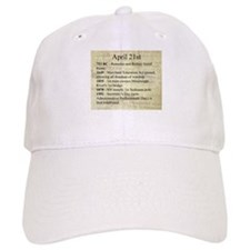 April 21st Baseball Baseball Baseball Cap