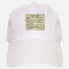 April 21st Baseball Cap