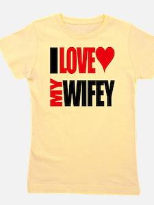 I Love My Wifey Girl's Tee