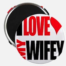I Love My Wifey Magnet