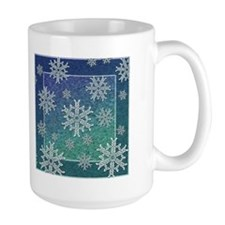 Celtic Knotwork Snowflake Mug