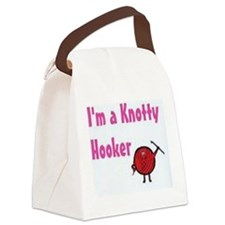 I'm a knotty hooker Canvas Lunch Bag