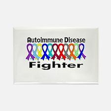 Autoimmune Disease Fighter Rectangle Magnet