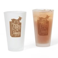 Totes Magotes Drinking Glass