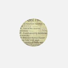 April 19th Mini Button