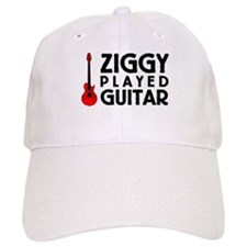 Ziggy Played Guitar Baseball Cap