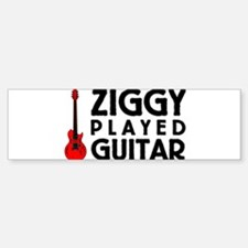Ziggy Played Guitar Bumper Bumper Bumper Sticker