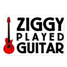 Ziggy Played Guitar Postcards (Package of 8)