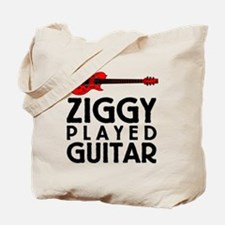 Ziggy Played Guitar Tote Bag