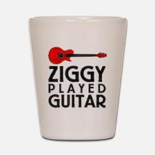 Ziggy Played Guitar Shot Glass