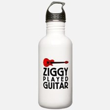 Ziggy Played Guitar Sports Water Bottle