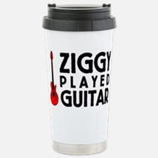 Ziggy Played Guitar Stainless Steel Travel Mug