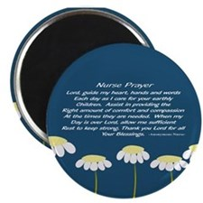 Nurse Prayer Blanket Pillow Magnets