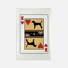 King Foxhound Rectangle Magnet (10 pack)