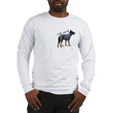 Attentive Australian - Long Sleeve T-Shirt