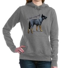 Attentive Australian - Hooded Sweatshirt