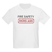 FIRE SAFETY kicks ass T-Shirt
