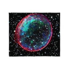 Bubble Supernova Throw Blanket