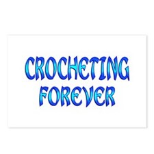 Crocheting Forever Postcards (Package of 8)